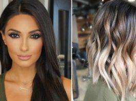 Модные техники окрашивания волос для брюнеток: 18 трендовых вариантов
