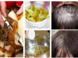 Избавьтесь от седых волос: сделайте сами средство для борьбы с сединой