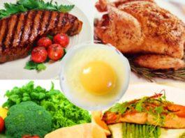 9 богатых на белок продуктов, помогающие похудеть