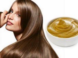 Горчица с сахаром — и твои волосы не узнать. Чудо рецепт!