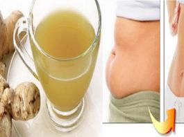 Как похудеть и избавиться от жира в области живота быстро, используя имбирь