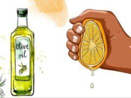 Выжмите 1 лимон, смешайте с 1 столовой ложкой оливкового масла, и вы запомните меня до конца вашей жизни!