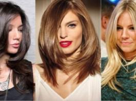 Фешенебельные стрижки каскад на средние волосы 2018