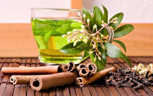 """Результат пошуку зображень за запитом """"зеленый чай+корица+лавровый лист"""""""