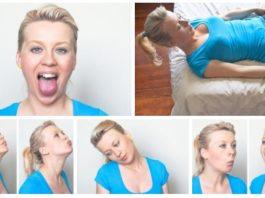 5 простых упражнений для ликвидации двойного подбородка