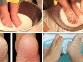 Эти 2 простых продукта сделают твои ножки идеальными! Хватит тратить деньги на педикюр