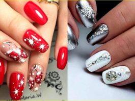 Новогодний маникюр: красивые идеи дизайна ногтей, которые принесут удачу