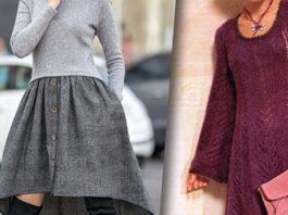 Теплый трикотаж: 11 женственных платьев, которые вам захочется надеть