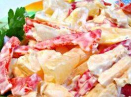 Вкусные и полезные салаты без вреда для фигуры