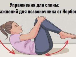 Упражнения Норбекова для всех отделов позвоночника