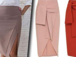 Модные и красивые фасоны юбок, которые можно успеть сшить к весне