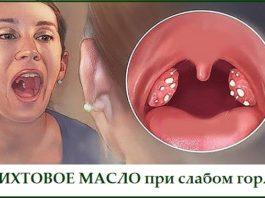 Пихтовое масло при слабом горле