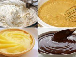 Изысканные и вкусные кремы для домашних тортов и пирожных