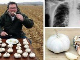 Он ежедневно ел чеснок на пустой желудок. Результат был потрясающим