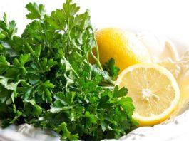 Петрушка с лимоном и чесноком для профилактики и лечения заболевания почек