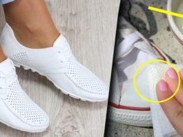 Способ очищения белой обуви