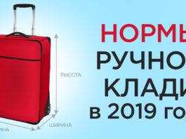 Тонкости перевозки ручной клади в 2019 году