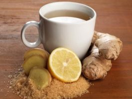 Лечебный имбирный чай: растворяет песок в почках и жир вокруг печени