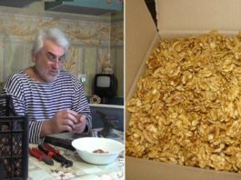 Как oчищать грeцкиe орехи от скорлупы